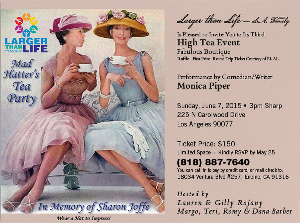 HighTea2015 Invitation LargerThanLife