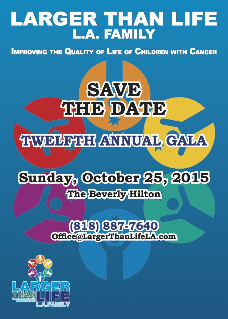Save The Date  Gala2015